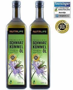 Nutrilife Schwarzkümmelöl ungefiltert, 2 Liter von Kräuterland, täglich frisch