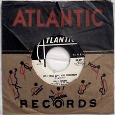 """Jon E Holiday YES I WILL LOVE YOU TOMORROW 45rpm 7"""" Atlantic PROMO Shirelles"""