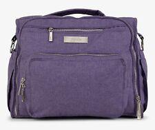Ju Ju Be Chromatic BFF Baby Diaper Bag Backpack with Changing Pad Grape Crush