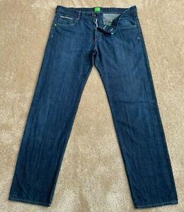 "Hugo Boss Green Label Regular Fit Straight Leg Stretch Jeans Size 34"" W & 32L"