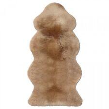Lammfelle Australisches Lammfell 1 1/2 Fellen Camel ca. 140 x 68 cm Naturform