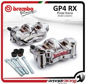 Coppia pinze freno Brembo GP4-RX + distanziali YAMAHA YZF R1 / R1M 2017 dsk320