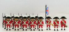 13 Red Coats Soldiers Playmobil to Guard Super Set 6 - Royal Navy cross Strap