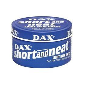 Dax Short and Neat Light Hair Dress 3.50 oz