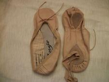 Capezio Ballet Shoe Allegro Split Sole 210 Pink New