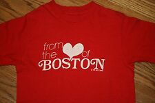 """Vintage """"FROM THE HEART OF BOSTON"""" 1978 T-Shirt tee-Adult S-Hanes-Lucy's Canvas"""