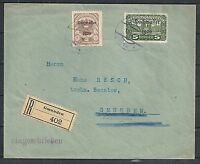 Austria 1920 Hochwasser local R-cover Gmunden