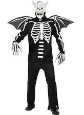 Gothic Manor Skeleton Demon Bones Adult Costume