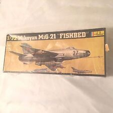 HELLER MIKOYAN MIG-21'FISHBED'''NEW,SEALED,MINT,CLASSIC,OWN PART OF WAR HISTORY