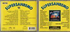 SANREMO 1995 2 CD PATTY PRAVO MANGO BERTE LIGHEA GIORGIO FALETTI SABINA GUZZANTI