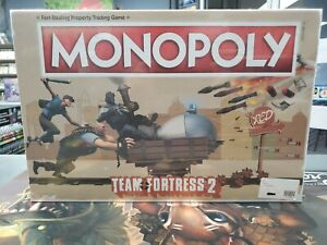 Monopoly Team Fortress 2 Board Game Brand New Out of Print