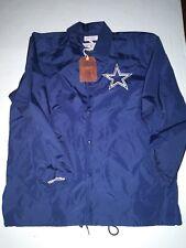 Dallas Cowboys Mitchell & Ness Coaches Lightweight Nylon Jacket XXL NWT Navy