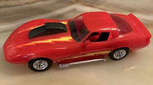 MMI 1983 Monogram plastic red 1982 Corvette.  1:32