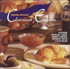 VARIOUS ARTISTS : Sunday Brunch: Classical Cusine CD