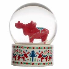 Scandi Moose Waterball Snow Globe