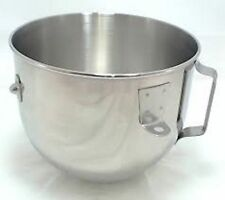 240340-2 - 5QT Stainless Steel Bowl w/ Handle for KitchenAid Stand Mixer-