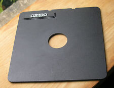 Cambo SC Monorail 10x8 5x4 lens board copal 0 34.7mm hole