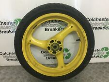 SUZUKI GSXR750 M N FRONT WHEEL  YEAR 1991 1992 (STOCK 321)