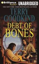 Debt of Bones by Terry Goodkind: (Unabridged Audio CD) New * Speedy Shipping! *