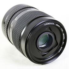 Camdiox 62mm 2:1 Macro Manual Focus Camera Lens for Canon EOS EF Mount 80D 7D II