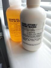 LE LABO HAND LOTION AND SHOWER OIL 250ML EACH