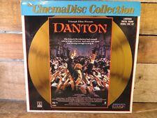 Danton (Laserdisc) Movie Triumph Film Presents