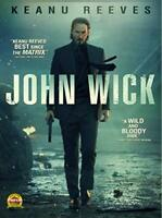 John Wick DVD New Sealed Action Keanu Reeves Movie Free Shipping