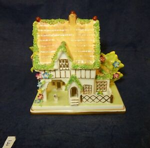 Vintage Coalport The Masters House  Pastille Burner   (E)