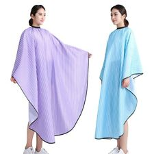 Striped Hair Cutting Cape Salon Hairdressing Hairdresser Gown Barber Cloth Apron