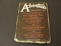ADVENTURE PULP, Published by Ridgway Company, N. Y.-December 31,1926 Magazine.