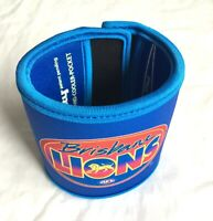 BRISBANE LIONS AFL FOOTY WRISTY DRINK COOLER WALLET