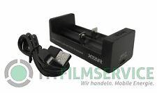 Xtar MC2 2-Schacht USB-Ladegerät für Li-Ion-Akkus - Ohne Akkus - für 18650 26650