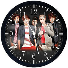 One Direction Black Frame Wall Clock Nice For Decor or Gifts W427