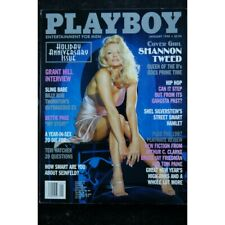 PLAYBOY US 1998 01 COVER SHANNON TWEED BETTIE PAGE TERI HATCHER INTERVIEW GRANT