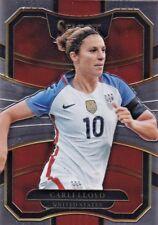 2017-18 Panini Select Soccer Sammelkarte, #35 Carli Lloyd