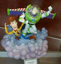 NEW Disney Parks BUZZ LIGHTYEAR & WOODY Toy Story MEDIUM Big Fig FIGURE Light Up