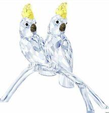 Swarovski Crystal Cockatoos Mib #5135939