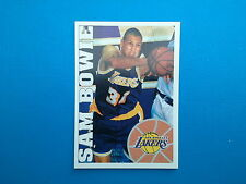 1995-96 Panini NBA Basketball Sticker N.226 Sam Bowie Los Angeles Lakers