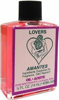 LOVERS Ritual Oil Spell Wicca PAGAN Witchcraft 1/2 OZ Love Marriage LUST DESIRES