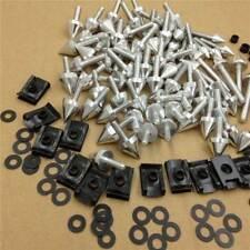 For Honda CBR1100XX Super Blackbird Silver Universal Fairing Bolt Screw Kit