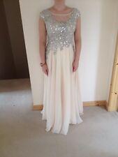 Made With Love Designer Embellished Wedding/prom Dress size 10