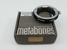 Metabones Leica M to Micro Four Thirds Adapter Ring
