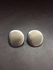 Emporio Armani Silver Tone Earrings