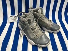 Jordan 6 Rings Jumpman Men White Wolf Cool Gray Shoes Sneakers 322992 Size 9🔥LW
