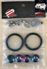 NEO CHROME Quick Release Bumper Kit *Fastener Honda Lancer Civic PWD JDM 180SX*