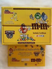 NASCAR M&M 2 Car Set 1:24 Scale with Cert of Authenticity