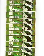 (10) Sealed Packs of 1972 Sunoco Football Stamps (9 Stamps per Pack) Eagles