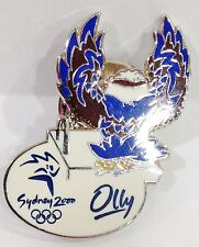 SYDNEY OLYMPIC GAMES 2000 MASCOT OLLY DIVING PIN BADGE #700