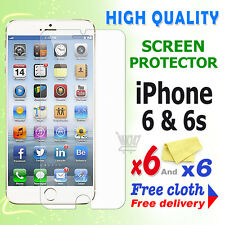6 Crystal Screen Guard Clear Screen Protector For Apple iPhone 6 iPhone 6S