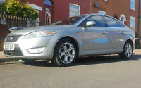 2008 Silver Ford Mondeo Titanium Low Mileage 71000 2.0 Petrol 5 Door ULEZ Comp